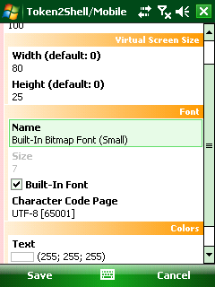 Property Scroll Example