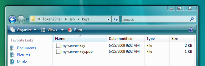 Configuring Private/Public Key User Authentication – Choung
